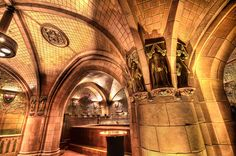 The Rathskeller at the Seelbach Hotel - Louisville, KY 1907  Tile by Rookwood Pottery - Cincinnati OH