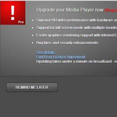 """Upgrade Your Media Player Now – Fake and Spam Website: If you are taken to the website """"hxxp://watch-now.fastplayer-upgrade.com"""" and asked to update your media player, please do not. The website is a fake and only contains software with Potentially Unwanted Programs (PUPs) that will hijack your web browsers and other programs on your computer...."""