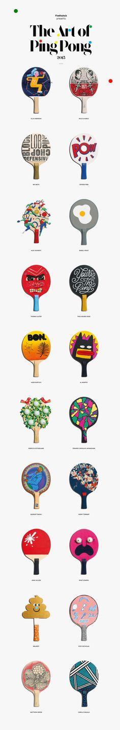 The Art Of Ping Pong  http://www.theartofpingpong.co.uk/