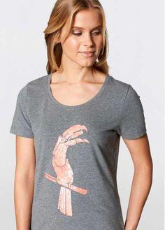 Shirt (set van 2) grijs gemêleerd gedessineerd - bpc bonprix collection - bonprix.nl