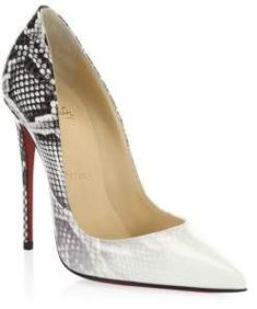 3882d43084a Christian Louboutin So Kate 120 Patent Leather Pumps Sexy Heels