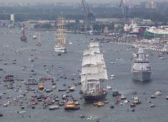 Succesvolle en drukke Sail-In parade is een feit
