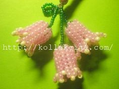 Bell flower - full tute (Translate)  #Seed #Bead #Tutorials