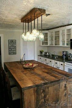 Making tables from the wooden pallets is not a new thing, but making a dining table from it and placing it inside the kitchen is a unique as well as the best idea. Now you don't have to spend thousand of the dollars on buying a dining table for the kitchen.