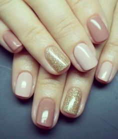 Nails Sencillas Marmol Ideas For 2019 Glitter Manicure, Manicure Colors, Gold Nails, Blue Nails, Nail Colors, Manicure Ideas, Gold Glitter, Shellac Pedicure, Fall Manicure