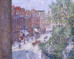 Mornington Crescent, c.1910 Art Print by Spencer Gore