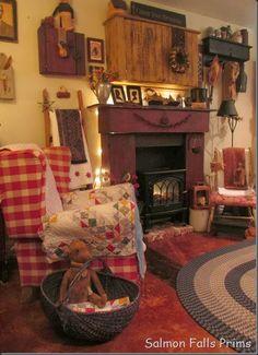 wood stove insert idea:)