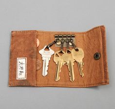 KEY HOLDER, POLKA DOTS :: HICKOREE'S