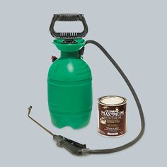 The finish has faded from your fence: You don't need to buy a fancy paint sprayer. A $13 landscape pump sprayer makes easy work of the job.