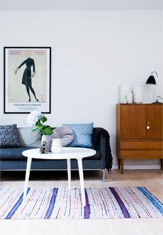 living room - cherry blossom blog