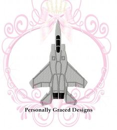 Instant Download F-15 Eagle Military Aircraft Fighter Jet Airplane Embroidery Design, 4 Sizes 3in, 4in, 5in, 6in, 4x4, 5x7, 6x10, Air Force  ---------------------------------------------------------------------------------------------------------------------------------------------------------- IMPORTANT: This is NOT an iron on or patch. This design is a manually digitized machine embroidery design. You must have an embroidery machine and know how to transfer the file to your machine in…