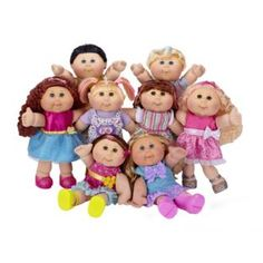 Dashing Vintage 1989 Mattel Blonde Blue Eyes Magic Nursery Doll Nude Clean Euc Dolls & Bears Other Dolls