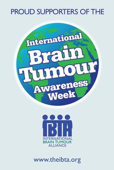 International Brain Tumour Awareness Week 2019 - National Awareness Days Events Calendar 2020 - UK & US Stupid Cancer, Walk Around The World, Brain Cancer Awareness, Event Calendar, Calendar 2020, Brain Tumor, Awareness Ribbons, Words, Day