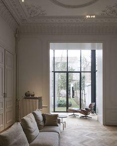 """Mi piace"": 2,241, commenti: 5 - Book Of Interiors (@bookofinteriors) su Instagram: ""Maison de Maître, #Ghent, Belgium by Hans Verstuyft Architecten #fineinteriors #interiors…"""