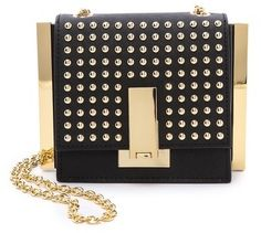 ZAC Zac Posen Studded Loren Mini Cross Body Bag Sac Porté Épaule, Mini Sac  Bandoulière 5c42ca64511c