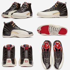 "3cfc02fdff7e Sneaker Bar Detroit on Instagram  ""Official Photos of the ""Chinese New Year""  Air Jordan 12. For more details"