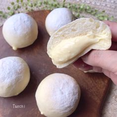 Donut Recipes, Sweets Recipes, Bread Recipes, Desserts, Japanese Bread, Japanese Sweets, Donuts, Bread Art, Cafe Food