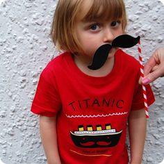 Titanic Kids Tee by teeandtoast.com