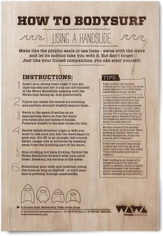 How to #bodysurf #handplane #handboard