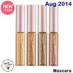 New August 2014  [ SkinFood ] Mineral Color Fix Brown Mascara 5.5g (New 2014), Korean Best Cosmetics, Free shipping