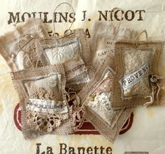 sweet lavender sachets