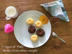 Amici oggi una ricetta dolce e freschissima la Ricetta budino al cioccolato e vaniglia fatto in casa...dei dolcetti facili e velocissimi e leggerissimi