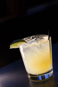 spicy margarita – habañero infused tequila, guava, cilantro