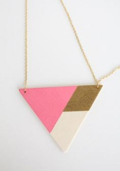 This project was created for the Alt Summit Jewelry Design Camp and is a really great way to use unexpected supplies to create beautiful accessories. Click below to download the full project instructions!     Kollabora Editor's Note: The wood triangle pieces needed for this project are not...