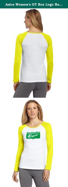 Asics Women's OT Box Logo Raglan Tee, Large, White/Yellow. ASICS, an acronym derived from the Latin phrase, Anima Sana In Corpore Sano-a sound mind in a sound body. Staying true to the philosophy by which it was founded, every ASICS innovation, every concept, every idea is intended to create the best product. Our mission is to become the number one brand for the sports enthusiast. To accomplish this, we pledge to continue to make the best product; striving to build upon our technological...
