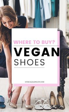 20 shops from all around the world where you can buy vegan shoes!