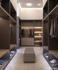 SUPER walk-in closet, looks more like a department store!