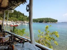 Agni Bay, Corfu. A fav place for lunch