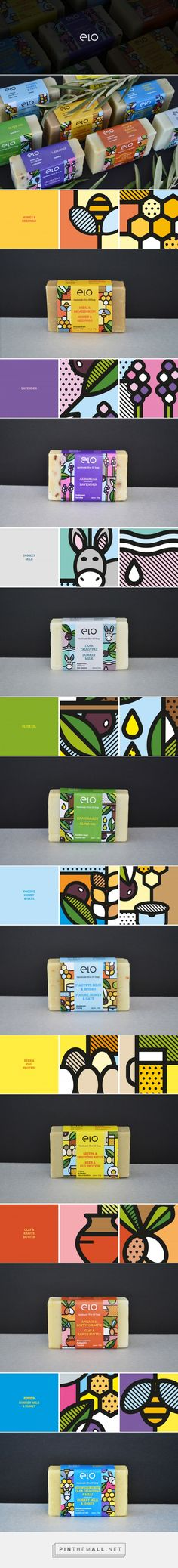 Elo Soap Packaging by Mike Karolos | Fivestar Branding Agency – Design and Branding Agency & Curated Inspiration Gallery