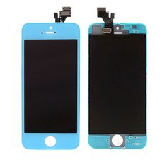 iPhone 5 Front Screen Assembly - Baby Blue