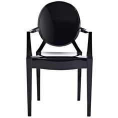 Black Louis Dining Armchair - Modway Furniture - $103 - domino.com