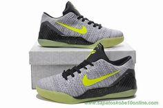 tenis de basket Cinza 677992-992 Nike Kobe 9 IX Elite Low
