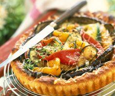 Découvrez la recette de la tarte aux légumes
