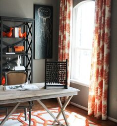 The Secret to Combining Orange and Gray