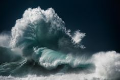 Luke Shadbolt, the Sydney-based nature photographer and creative director, has spent months capturing scenes of colossal waves which put on display the true pow No Wave, Stormy Sea, Stormy Waters, Colossal Art, Sea Photo, Photo Art, Crashing Waves, Portraits, Ocean Photography
