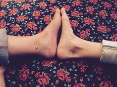 Best friend XO tattoos #bestfriendtattoo