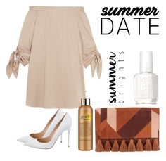 """""""Summer date"""" by imanko on Polyvore featuring mode, TIBI, Rebecca Minkoff, Gianvito Rossi, Essie et philosophy"""