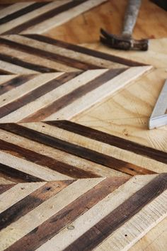 chevron flooring