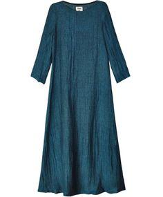 Petrol Civi Long Sleeve Dress
