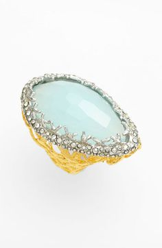 I love this ring! Alexis Bittar 'Elements - Siyabona' Woven Stone Ring #Nordstrom