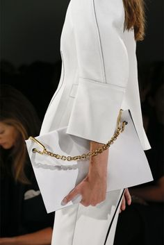 Calvin Klein Spring/Summer 2013 I can NEVER resist WHITE !!!