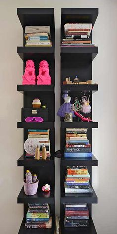 Shelf | Books Storage | Ideas for Home | Interior Design | Decoration | Organization | Architecture