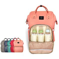 패션 엄마 출산 기저귀 가방 브랜드 대용량 아기 가방 여행 배낭 Desiger 간호 가방 아기 케어
