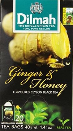 Dilmah Fun Teas Ginger and Honey 320Ounce Boxes Pack of 6 -- Click image to review more details.