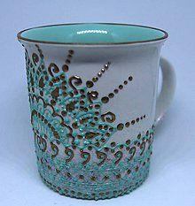 - maľovaný hrnček - 9269996_ Mugs, Tableware, Handmade, Dinnerware, Hand Made, Tumbler, Dishes, Craft, Mug
