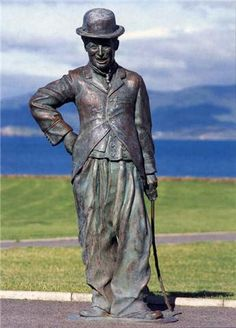 Statue of Charlie Chaplin in Waterville, County Kerry, Ireland. Seemed very random when we saw it but Waterville takes pride in the fact that Charlie Chaplin enjoyed vacationing there.